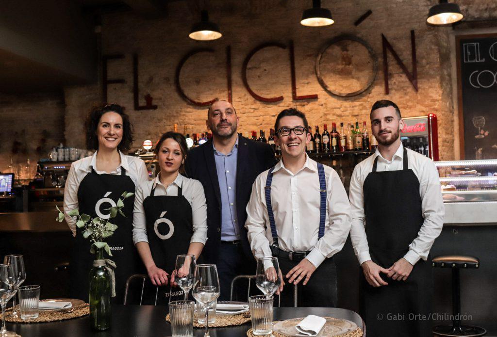 restaurante El Ciclón equipo GOC