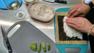 Zarola sushi elaboración