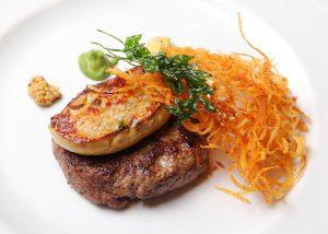 hamburguesa con foie ALBARRACIN