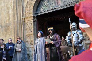 Recreación Sos del Rey Católico Nacimiento del Rey