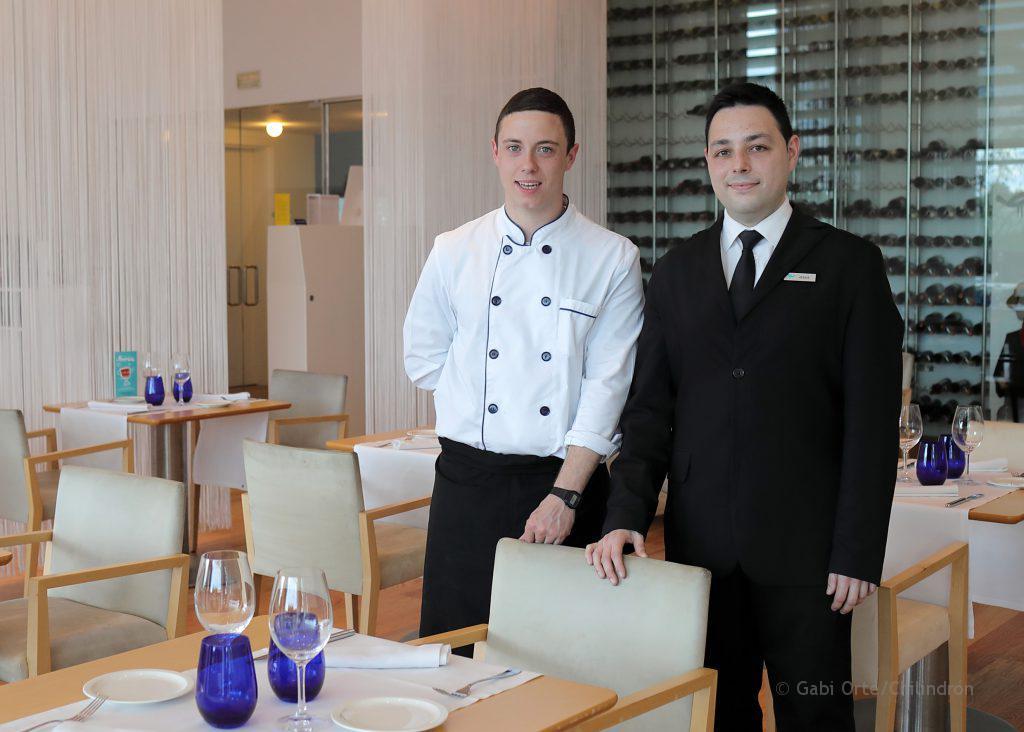 equipo del restaurante Célebris