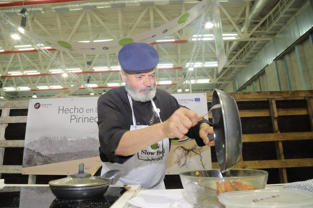 cocinero Antonio Arazo Congreso Hecho en los Pirineos