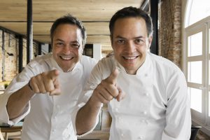 Hermanos Torres, del programa Torres en la cocina, ponentes de Hecho en los Pirineos