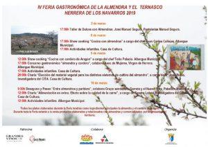 Cartel de la Feria de la Almendra y el Ternasco