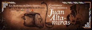 Imagen II Certamen gastronómico Juan Altamiras