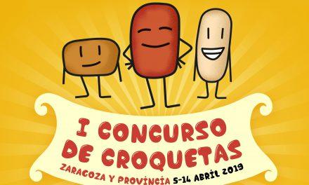 Llega el I Concurso de croquetas de la provincia de Zaragoza