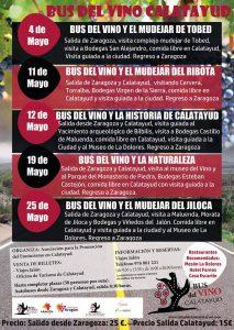 Programación Bus del vino de Calatayud
