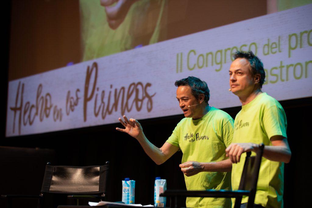 Congreso Hecho en los Pirineos ponencia Hermanos Torres