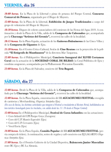 Programa Fiestas del Agua