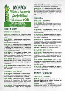 Feria de Economía y Sostenibilidad - Programa