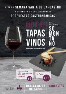 Cartel Semana Santa Gastronómica Somontano