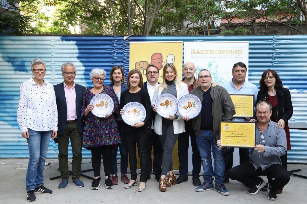 Ganadores del I Concurso de Croquetas.