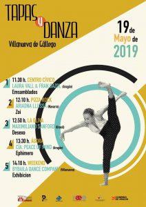 Tapas y Danza en Villanueva de Gállego