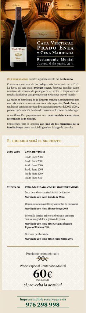 Información sobre cata vertical de Prado Enea