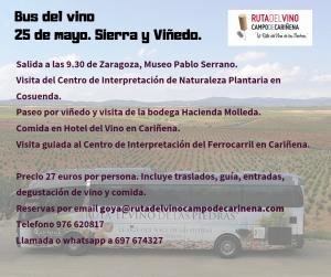 Ruta del Bus del vino de Cariñena
