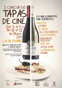 I Concurso de Tapas de Cine - La Almunia de Doña Godina