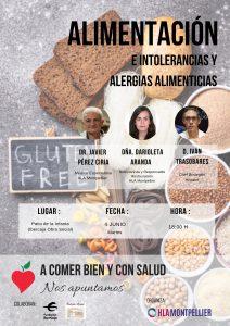 Cartel Alimentación e Intolerancias y Alergias Alimenticias