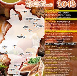 Cartel Semana de la alimentación y productos de proximidad
