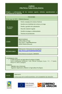 Curso de fruticultura ecológica CAAE