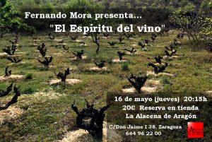Cata de Vinos de Fernando Mora en La Alacena de Aragón