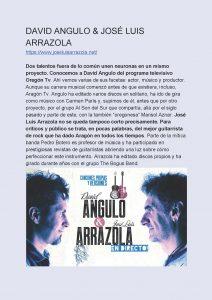 David Angulo y José Luis Arrazola