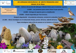 XXI Jornadas micológicas en Broto