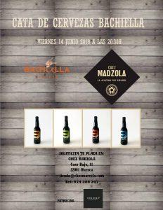 Cata de cervezas Bachiella en Chez Marzola