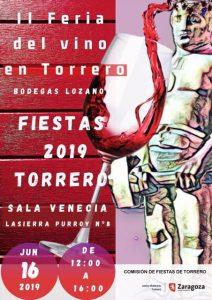 Feria del vino en Torrero