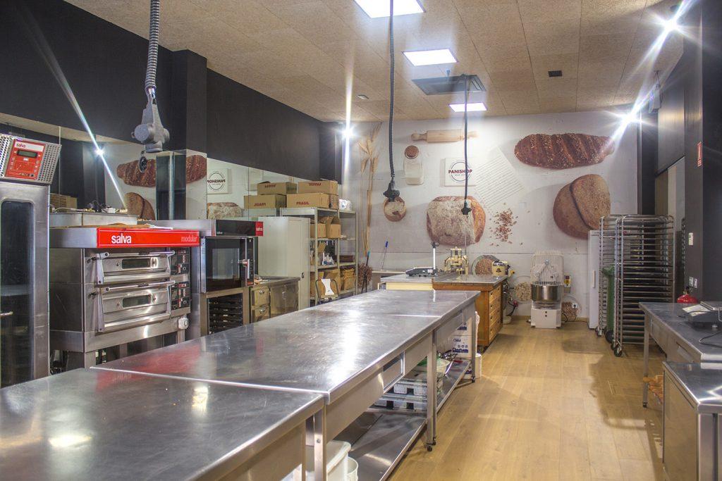 La escuela de panadería dispone de instalaciones perfectamente adecuadas. FOTO: Cortesía Panishop
