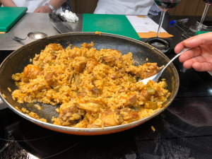 Curso de paellas y arroces en La Zarola