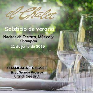 chalet cena verano 2019