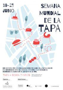 Cartel de la Semana Mundial de la Tapa
