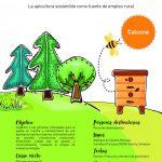Curso de apicultura para desempleados en Calcena