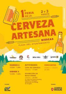 I Feria de la Cerveza Artesana de Biescas