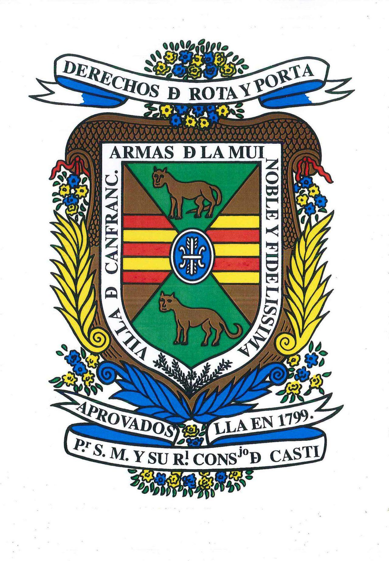 Ayuntamiento Canfranc escudo