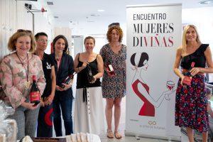 Organizadoras y protagonistas del III Encuentro de Mujeres Diviñas