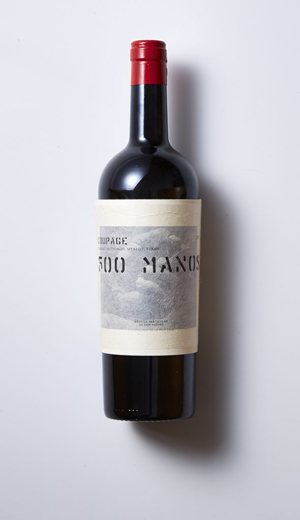 500 Manos vino