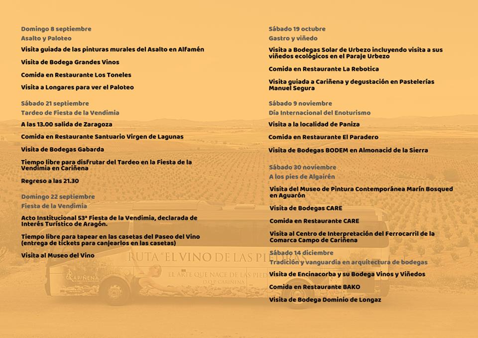 2019 ruta vino Campo de Cariñana