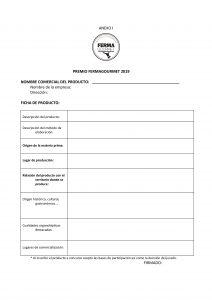 Ficha de Inscripción FermaGourmet