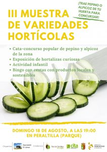 III Muestra de variedades hortícolas