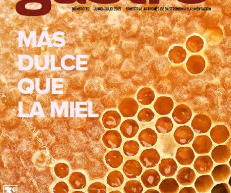 Revista Gastro Aragón 70: Más dulce que la miel
