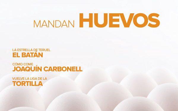 Revista Gastro Aragón 71: Mandan huevos
