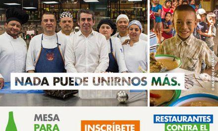 Vuelve la campaña Restaurantes contra el hambre