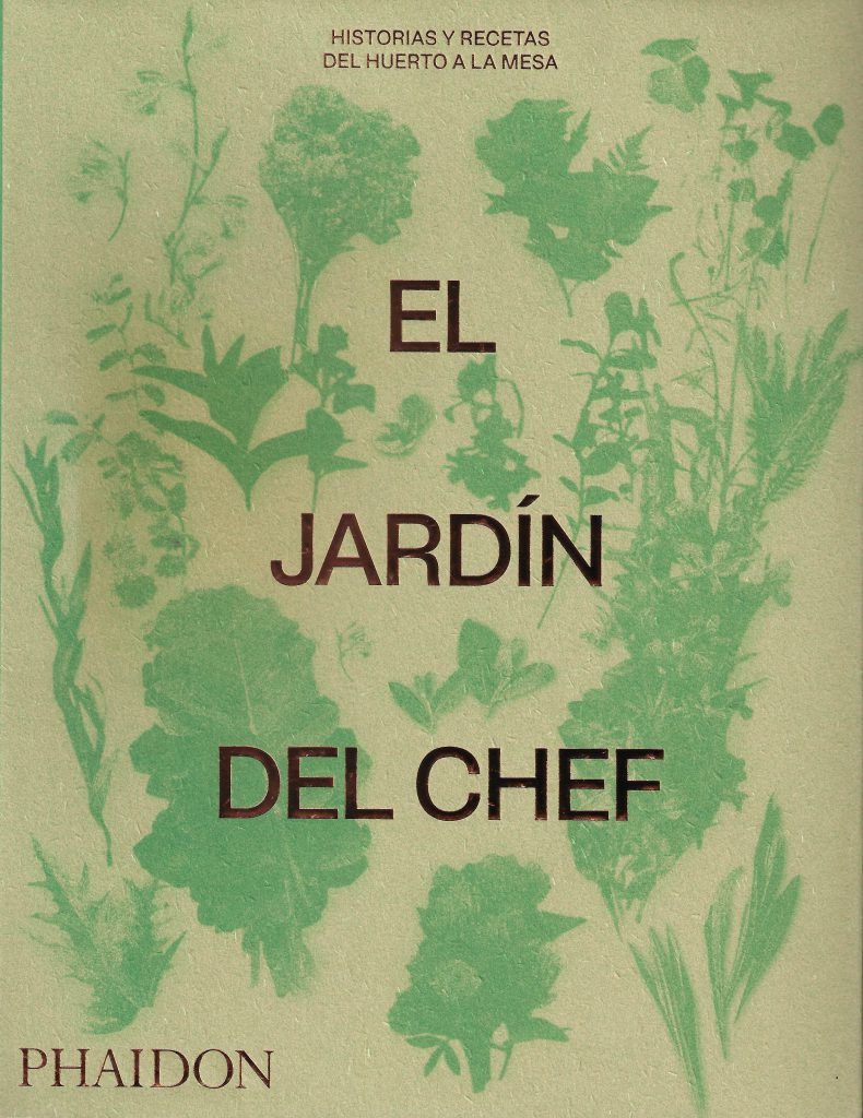 Sopa de letras portada El jardin del chef