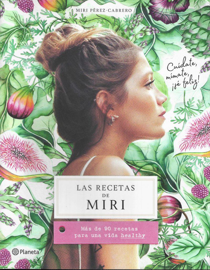 Sopa de letras portada Las recetas de Miri