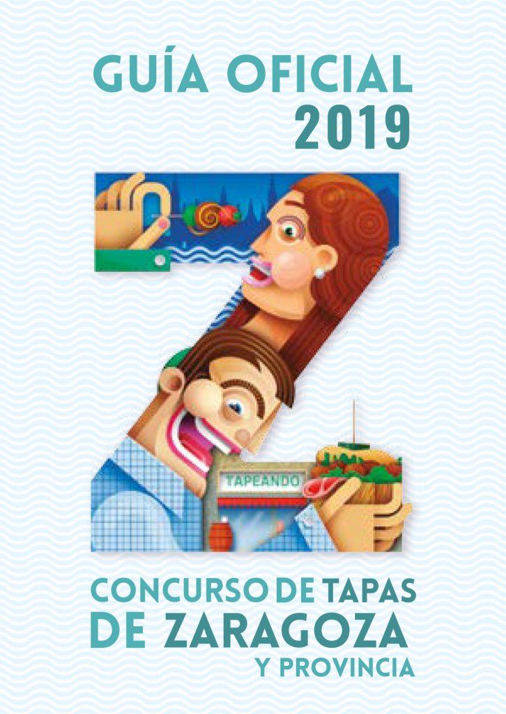 Sopa de letras guia Tapas zaragoza 2018