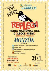 Cartel Replega Monzón