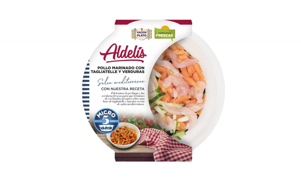 Aldelis pollo_marinado_con_tagliatelle_y_verduras_mediterraneo_al_vapor - copia