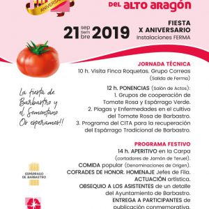 Aniversario Asociación de Hortelanos del Alto Aragón