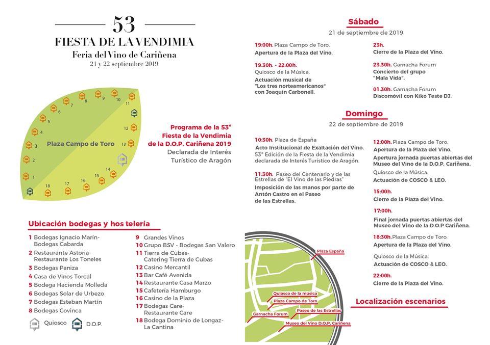 Programa Fiesta de la Vendimia